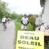 Barbotto salita Nove Colli Ristoro Hotel Beau Soleil Cesenatico